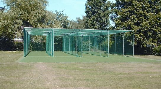quadruple lane cricket cage