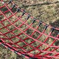 Hercules rope hammocks with  plastic knot clips