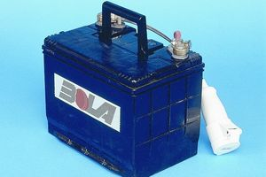 bowling machine battery