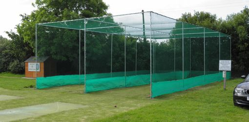 1 Bay Cricket Cage Replacement Net