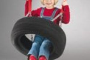 Simple tyre swing
