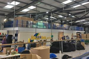 Huck Nets Factory Extension Complete