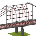 Net See-Saw Steel with Net Roof