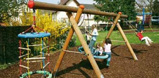 Douglas fir swing frame