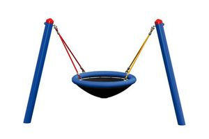 Mini M-swing, powder-coated