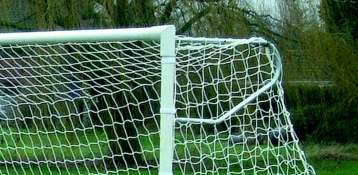 elbow net support for football goal