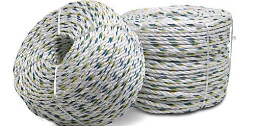 rolls of white rope