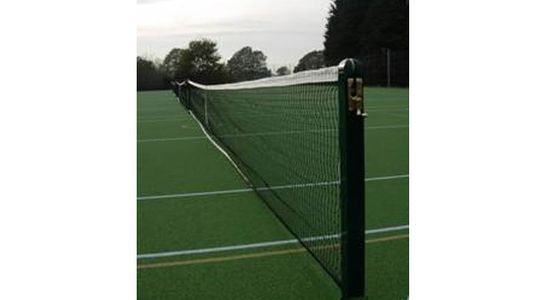 Square Socketed Steel Tennis Posts