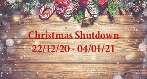 Huck Nets Christmas Shutdown dates 2020