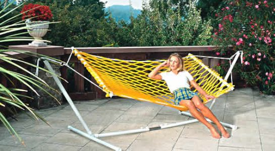 "Article 40003-05 with hammock stand ""Easy Stand"""