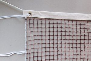 red 24' badminton net