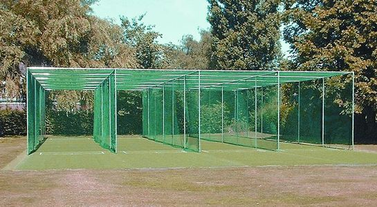 quadruple bay cricket cage