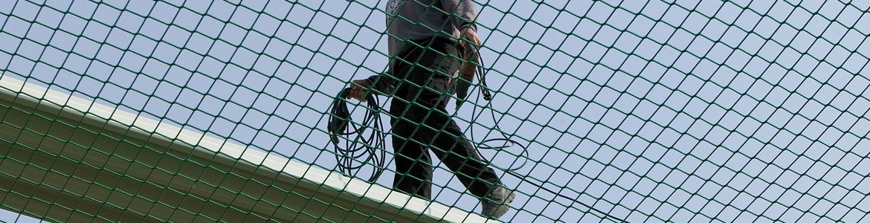 Safety Nets, Fall Arrest Nets - Huck