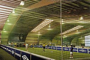 indoor football dome