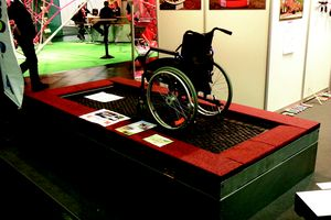 """Rolli"" trampoline for wheelchair users"