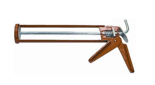 skeleton caulking gun