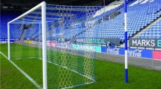 3 5mm Hexagonal Mesh Box Style Football Goal Nets 2 Colour Huck