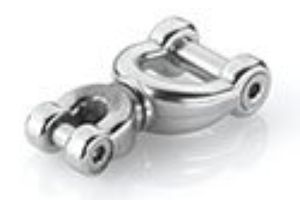 Stainless steel thimble chain swivel