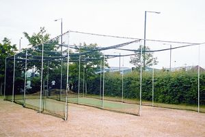 double bay cricket cage