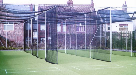 3 Bay Standard Cricket Cage Replacement Net