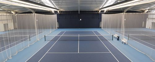 tennis centre screens  tennis nets and divider nets