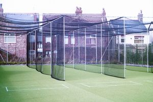 triple bay cricket cage