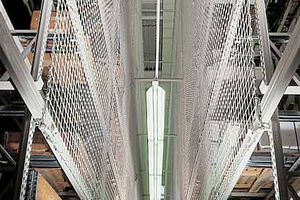 White Rack netting