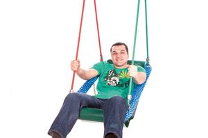 Mini swing for those of limited mobility