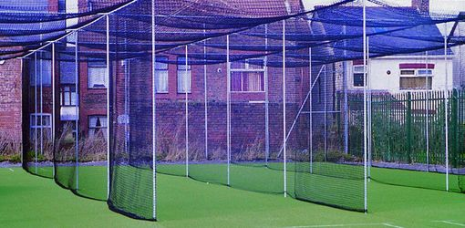 Three Bay cricket cage