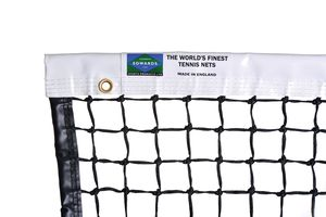 braided knotted tennis net