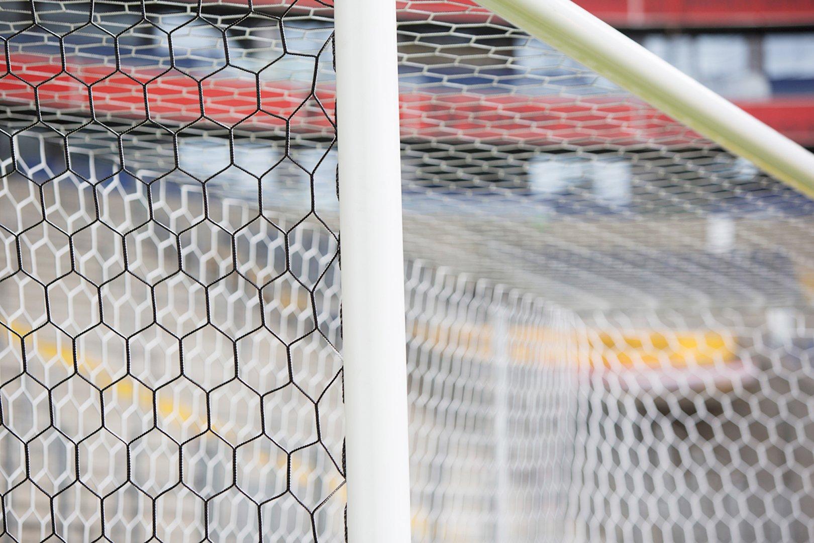 3.5mm hexagonal Mesh Box Style Goal Nets, \'Fans Net\' - Huck