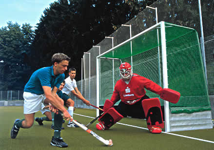Field Hockey Goal Net In High Tenacity Polypropylene 2 5