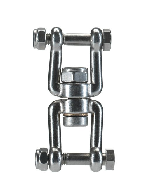 M shackle rotating swivel without ball bearing