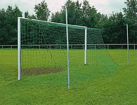 c22b2afc3 Socketed Aluminium full size football goals with free standing net support  posts. £ 1,592.15 * GBP 1592.15 * excl. VAT: £ 1,326.79 Shipping cost