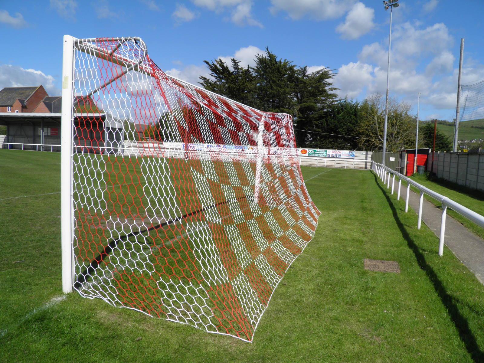 3 5mm Hexagonal Mesh Continental Style Football Goal Nets Chequered