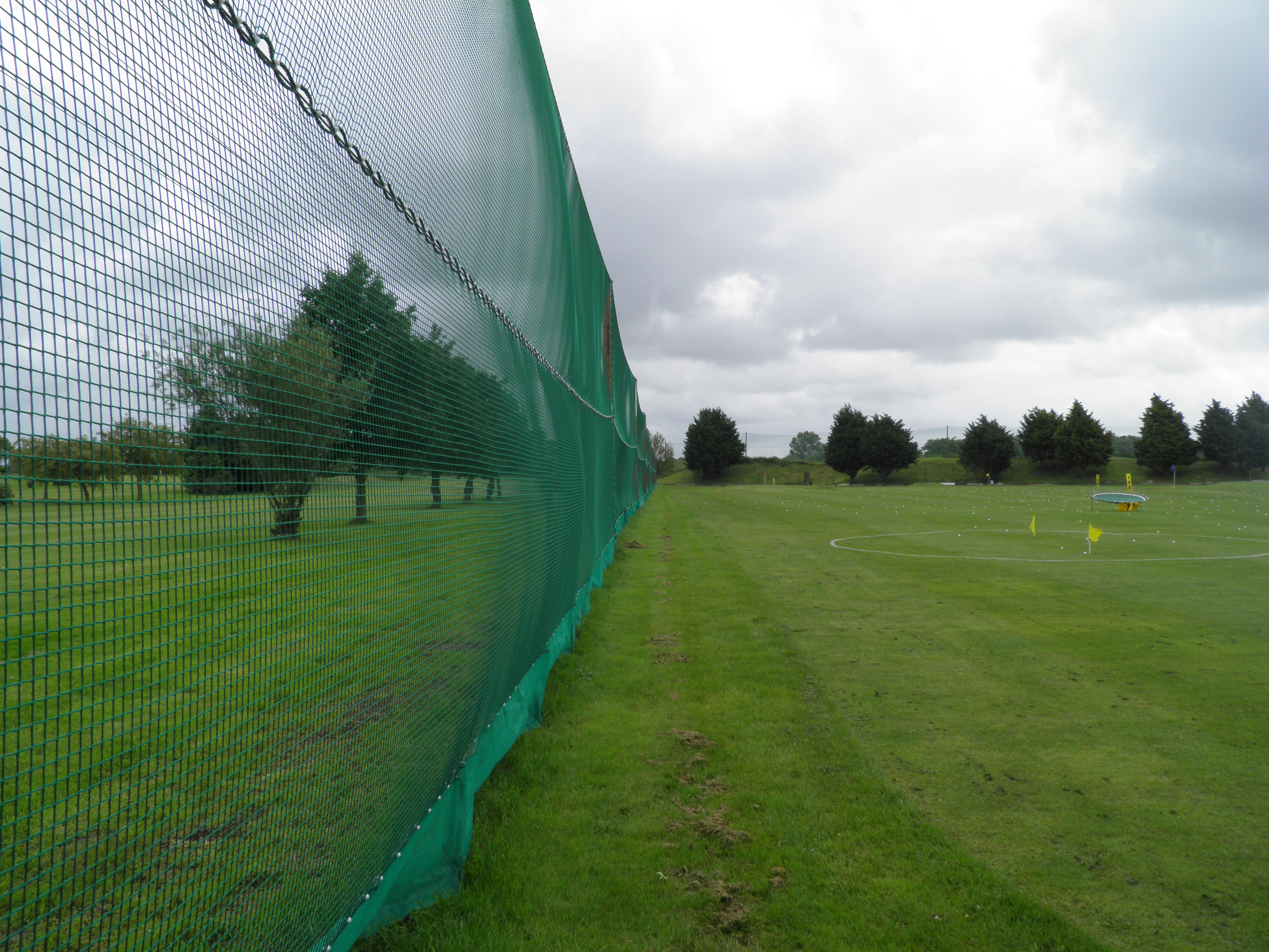 Golf Driving Range Netting Installations Huck
